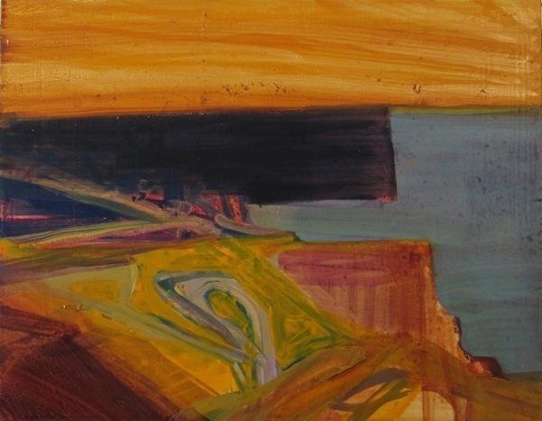 seascape 5,  18  x23  cm, oil on   panel
