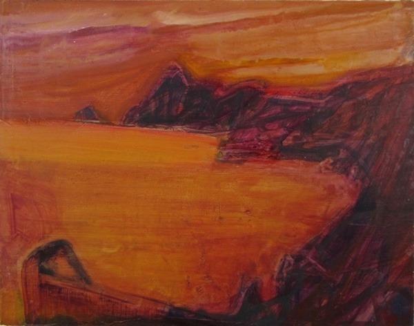 seascape 9,  18  x23  cm, oil on   panel
