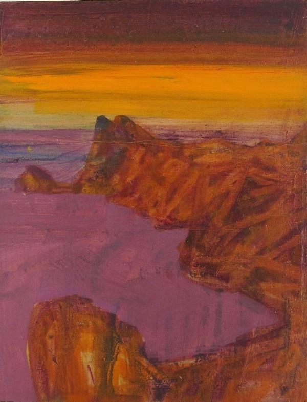 seascape 8,  23 x18  cm, oil on   panel