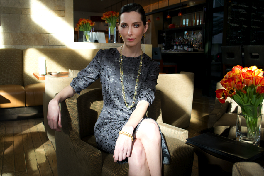 Dress, Camilla Olson; Jewelry, Gleim the Jeweler; Location, Four Seasons Silicon Valley