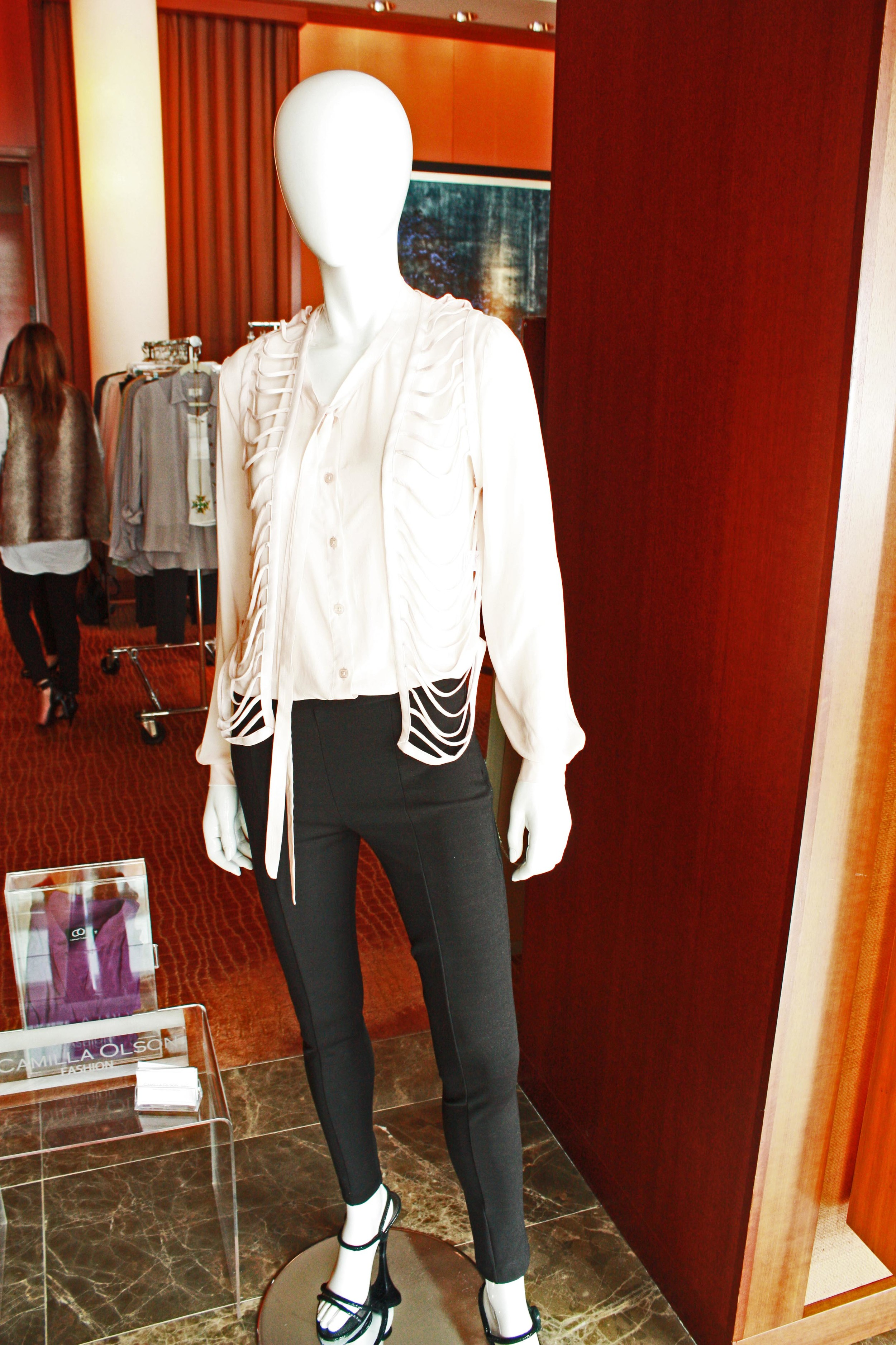 Our mannequins welcomed everyone in the main lobby of the Four Seasons Silicon Valley