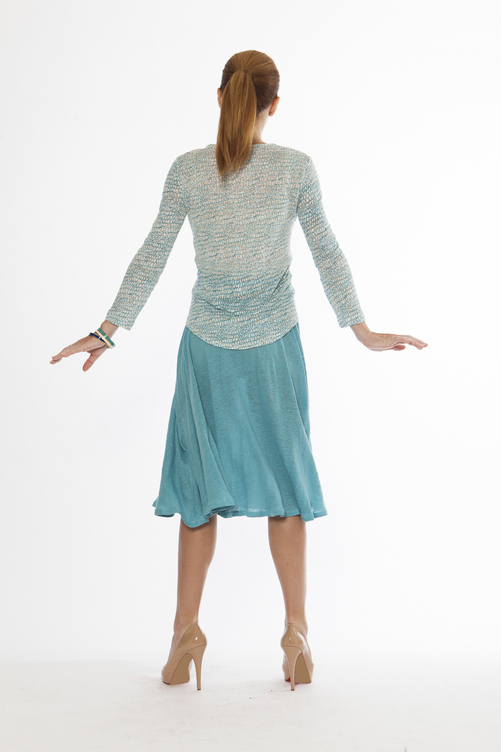 Visionary Blouse + Ripple Skirt