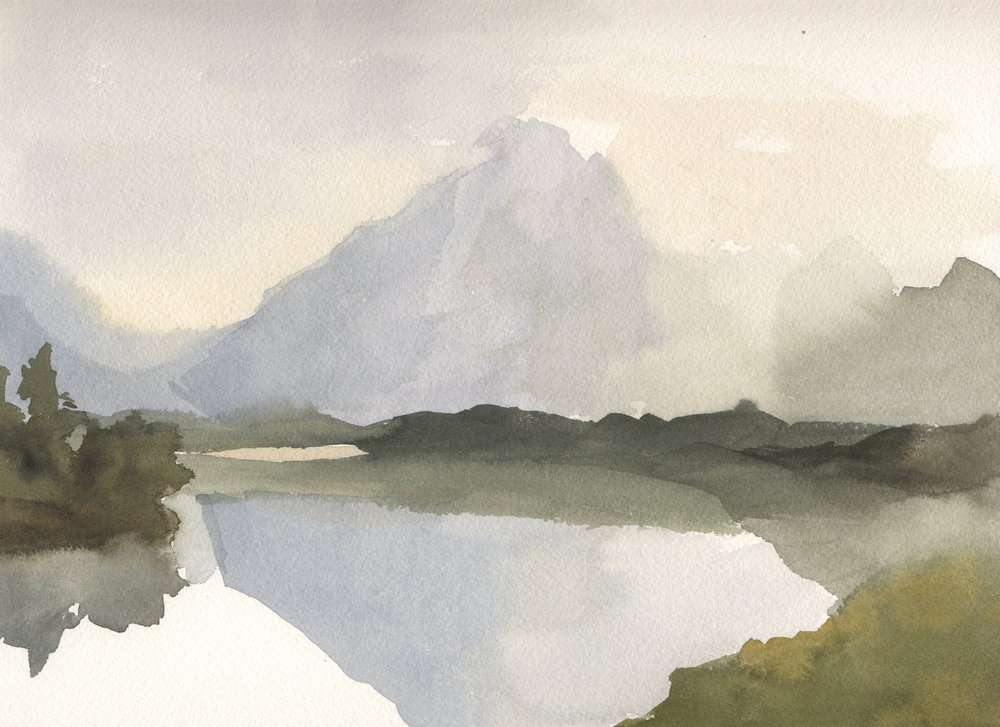 Wyoming Snake River Watercolor 1 Oxbow Bend.jpg