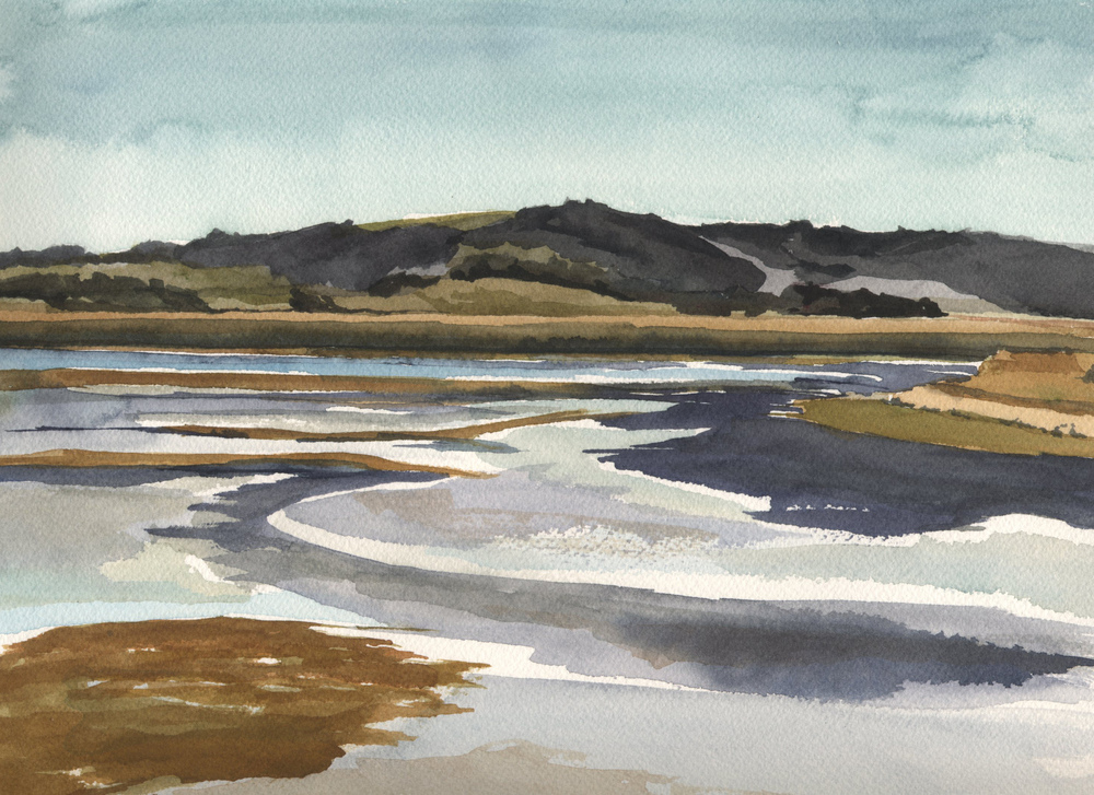 Watercolor Bolinas Lagoon 5.jpg