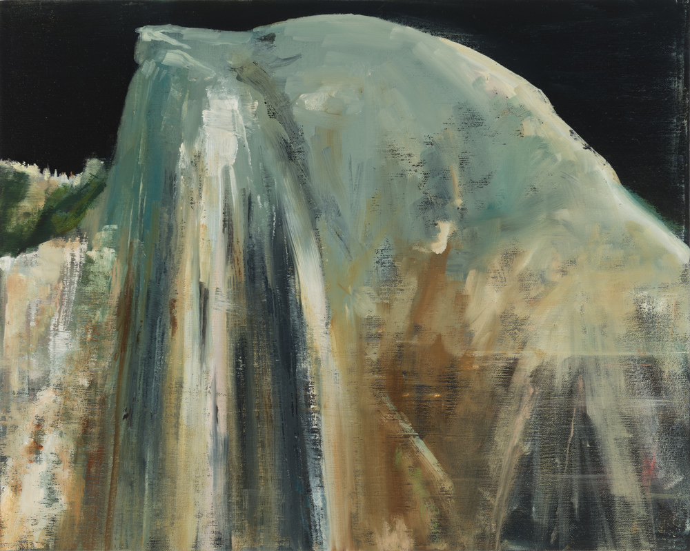 "half dome   16"" x 20""  oil on canvas  2014"