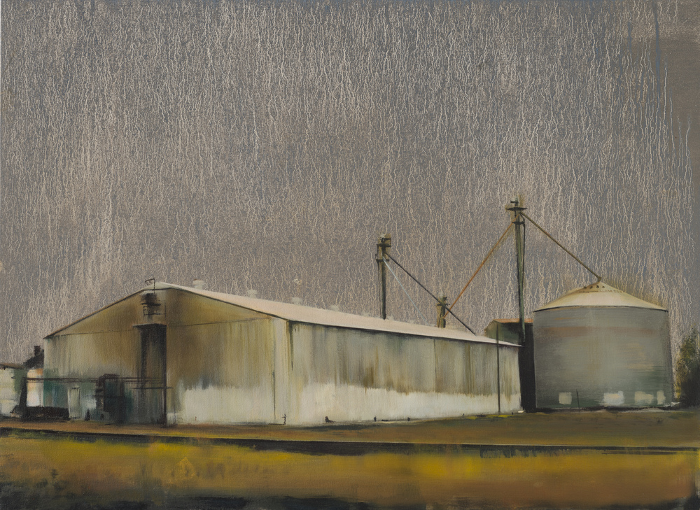 "grain   •  22"" x 30""  oil on canvas  2012"