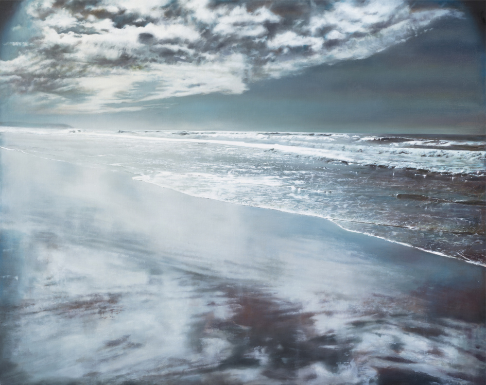 "point reyes   •  63"" x 79""  oil on linen  2012"