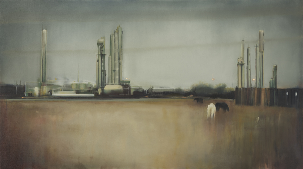 "texas   28"" x 50""  oil on canvas  2012"