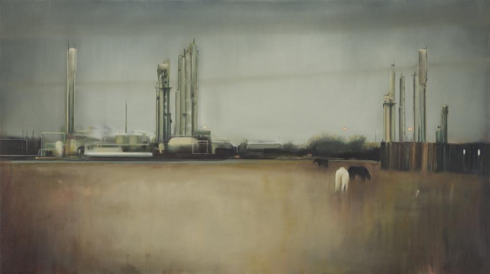 """texas  •  28"""" x 50""""  oil on canvas  2012"""