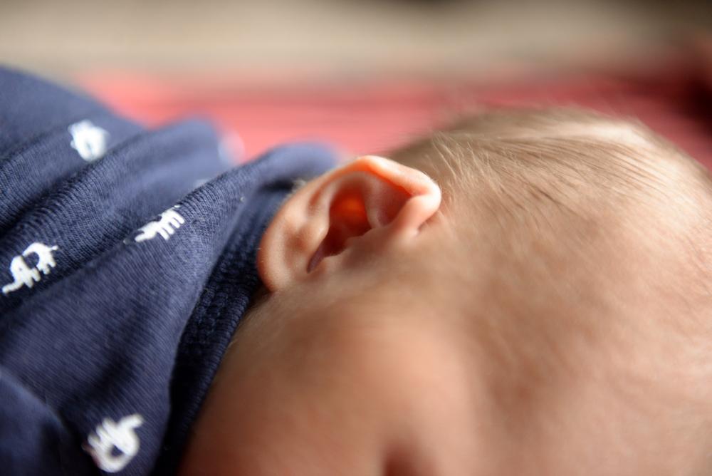Tiny baby ear!