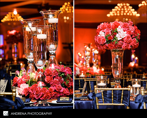 Color inspiration navy coral instyle events for Table coral sample