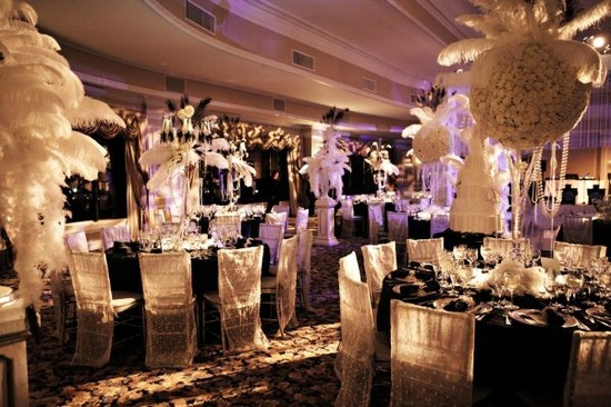 Color Inspiration The Great Gatsby & Color Inspiration: The Great Gatsby u2014 InStyle Events  Wedding ...