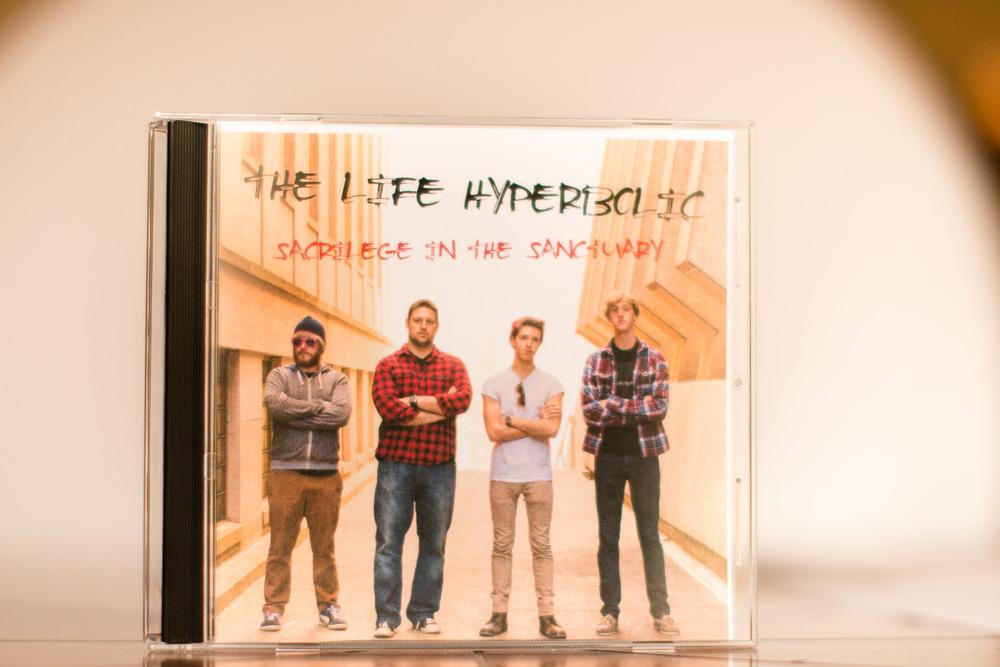 The Life Hyperbolic band group photoshoot portrait album