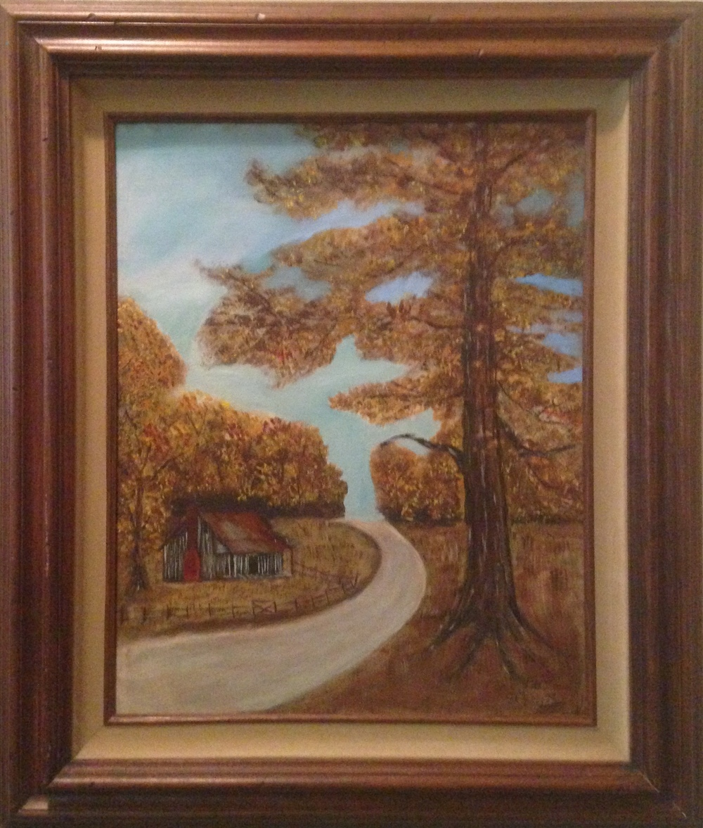 Another painting from the museum's collection by Mrs. DeCinter Farley.