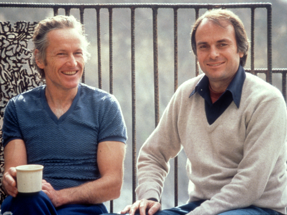 Dick Price and Michael Murphy at the Esalen Institute