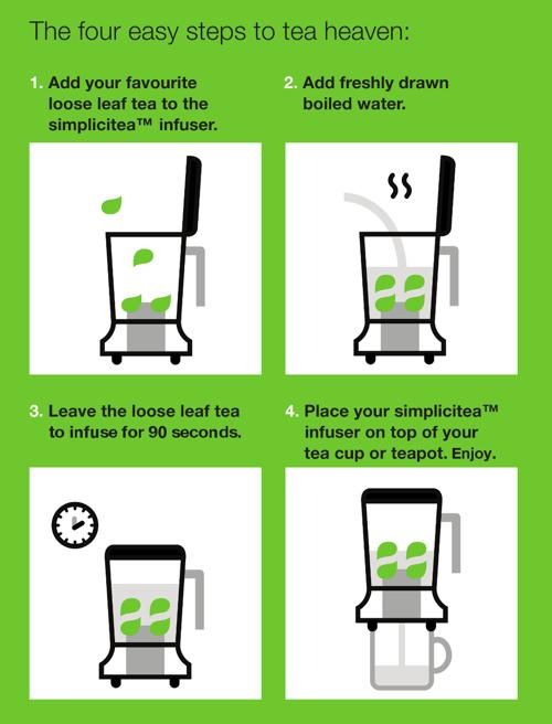 Simplicitea tea infuser · we are tea