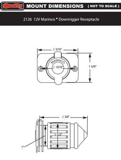 scotty+receptacle+marinco+dimensions?format=500w scotty 12v plug and receptacle from marinco no 2125 right angle scotty downrigger wiring diagram at highcare.asia
