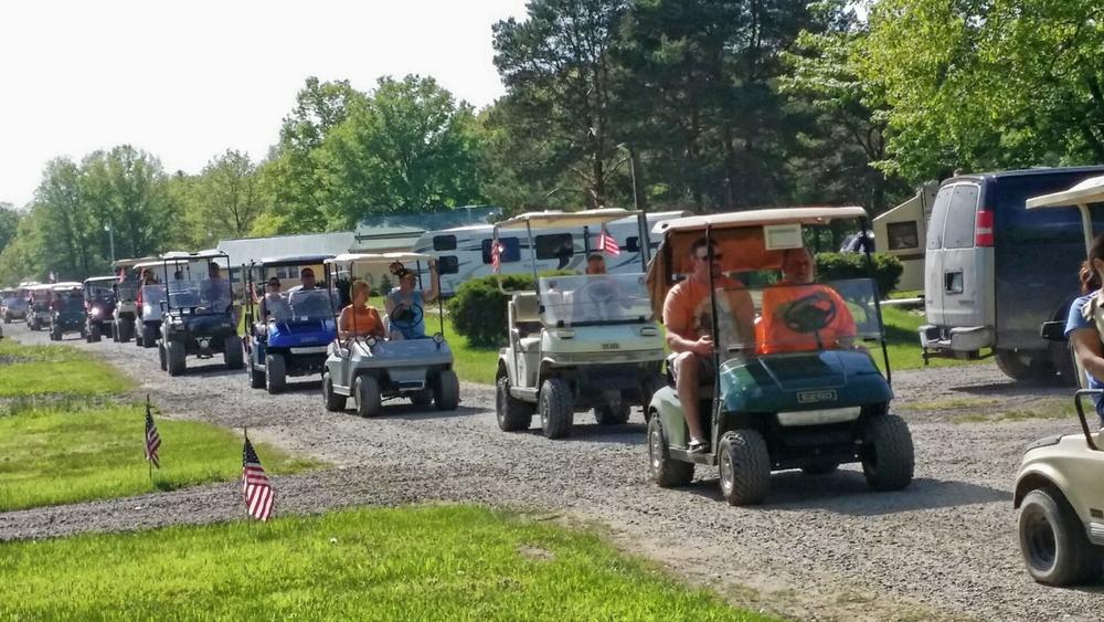 Golf Cart Parade