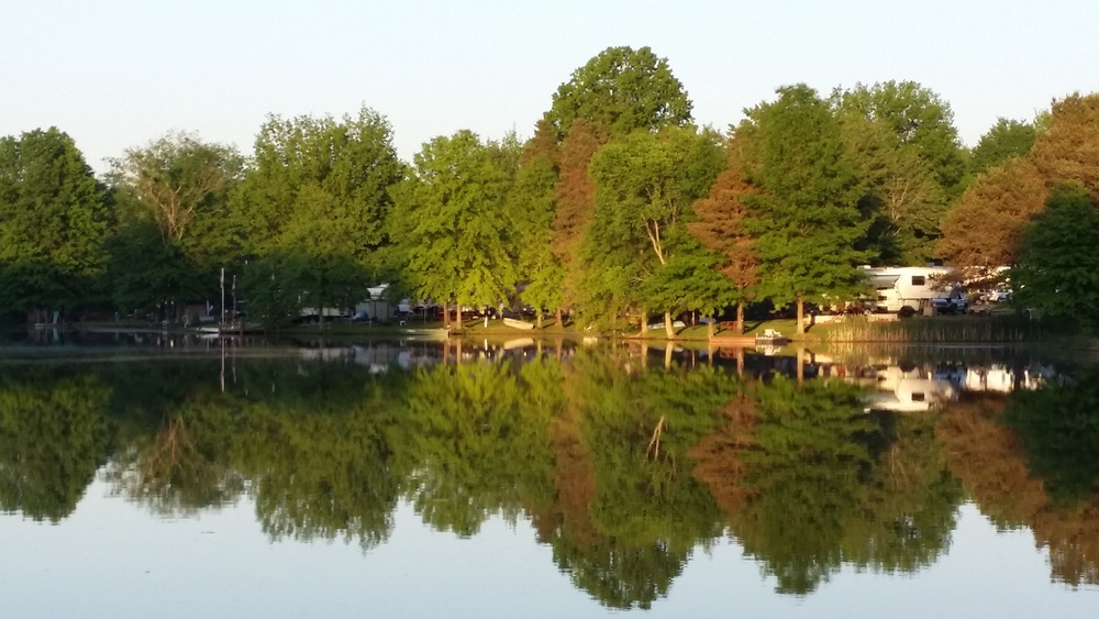 Mirror quality on the lake