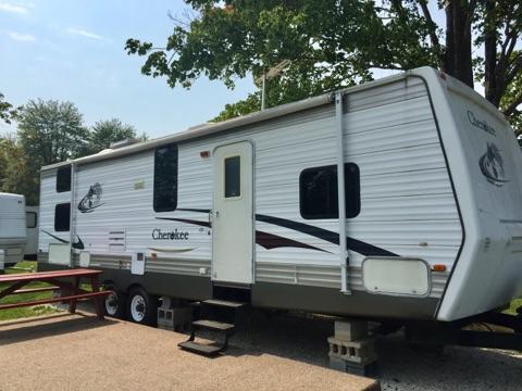 Rental Camper A1 Bunkhouse Sleeps 6-8