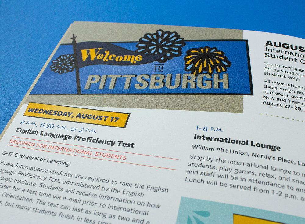 University of Pittsburgh Orientation — Bethany Schreck