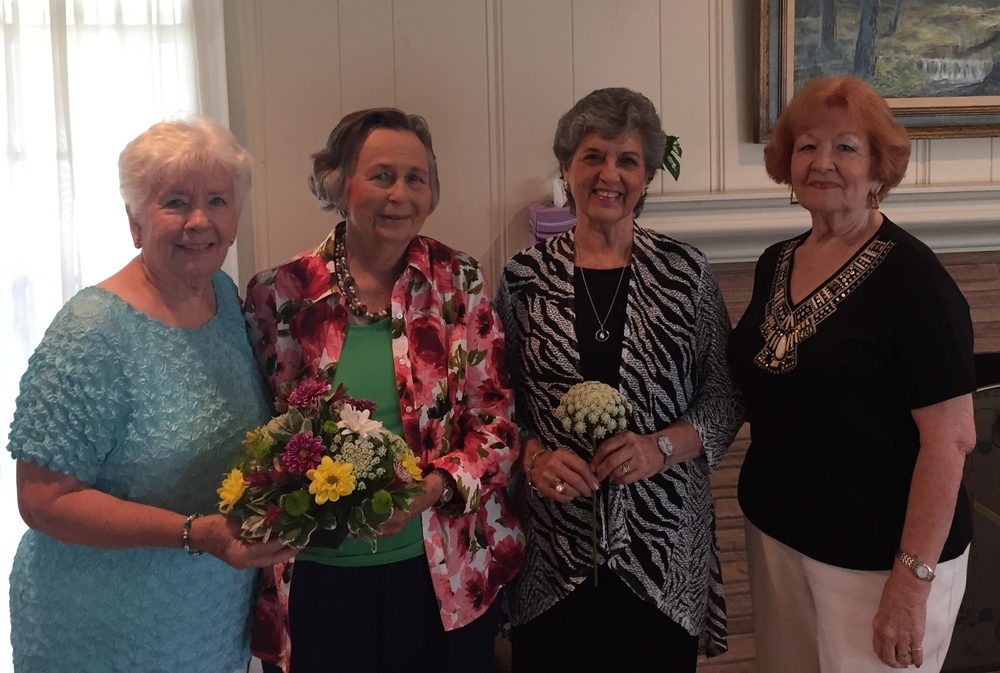 Hostesses: Merlene Schumacher, Joan Zeiss, Jere Longhofer & Freda Martin