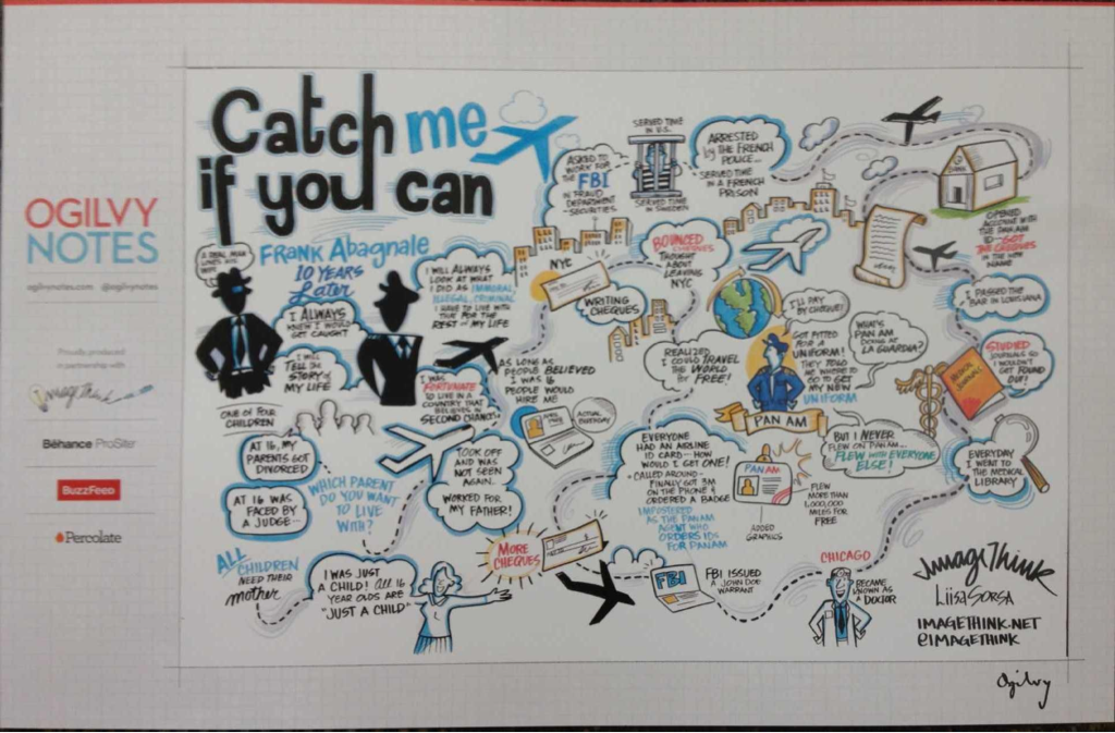 Catch me if you can with Frank Abagnale [Infographic]