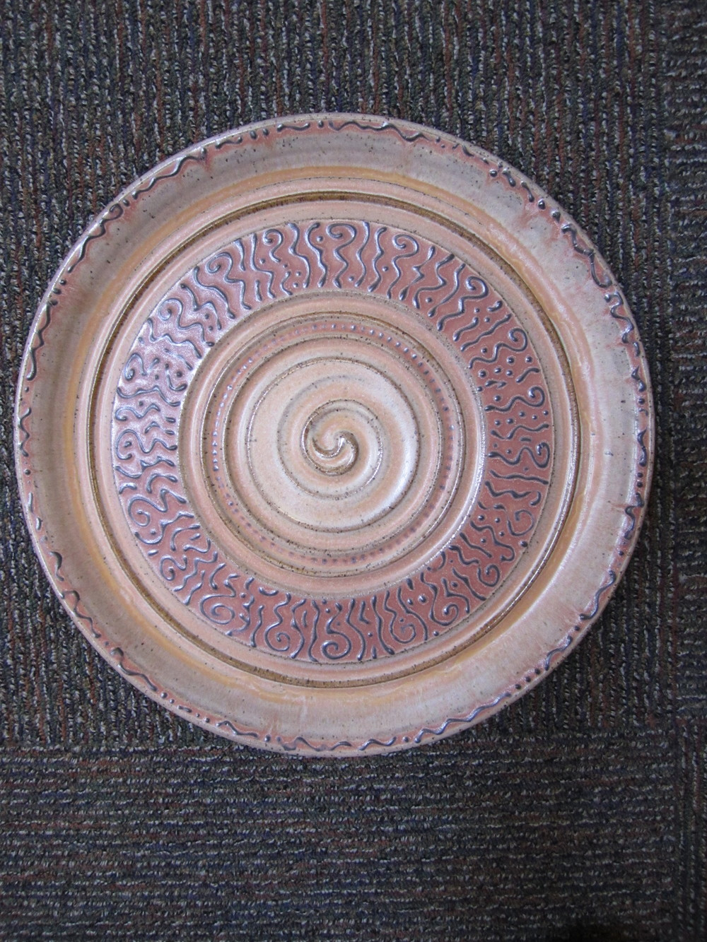 """Cookie Tray"" stoneware"