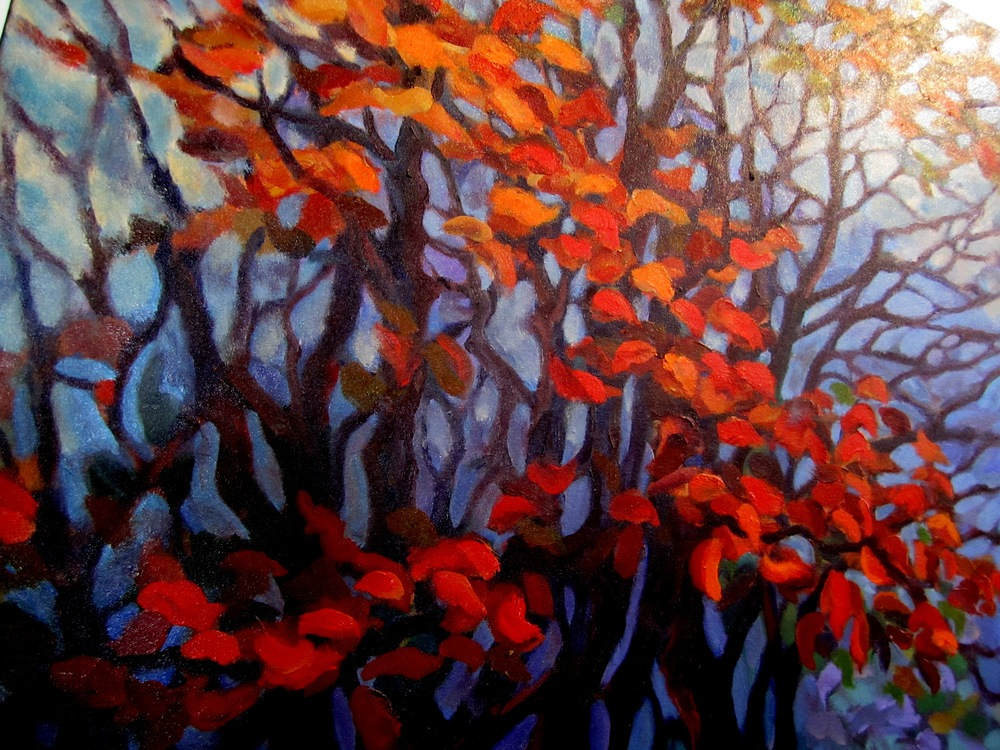 """Autumn Splendor"" oil"