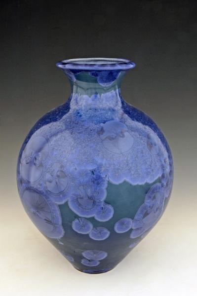 Flambeaux vase