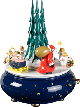 Santa Procession Music Box