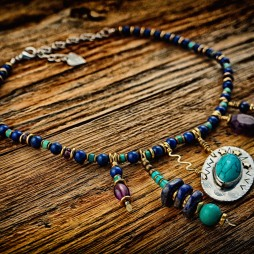 """Turn the Tide"" necklace"