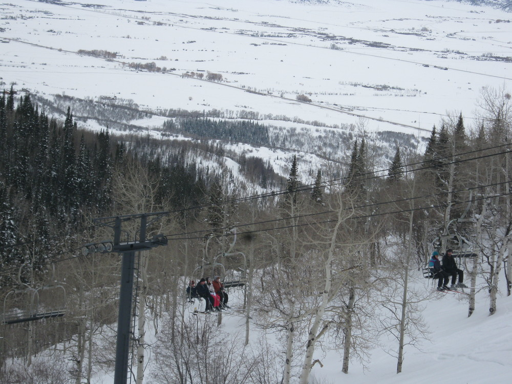 The ski lift of death.