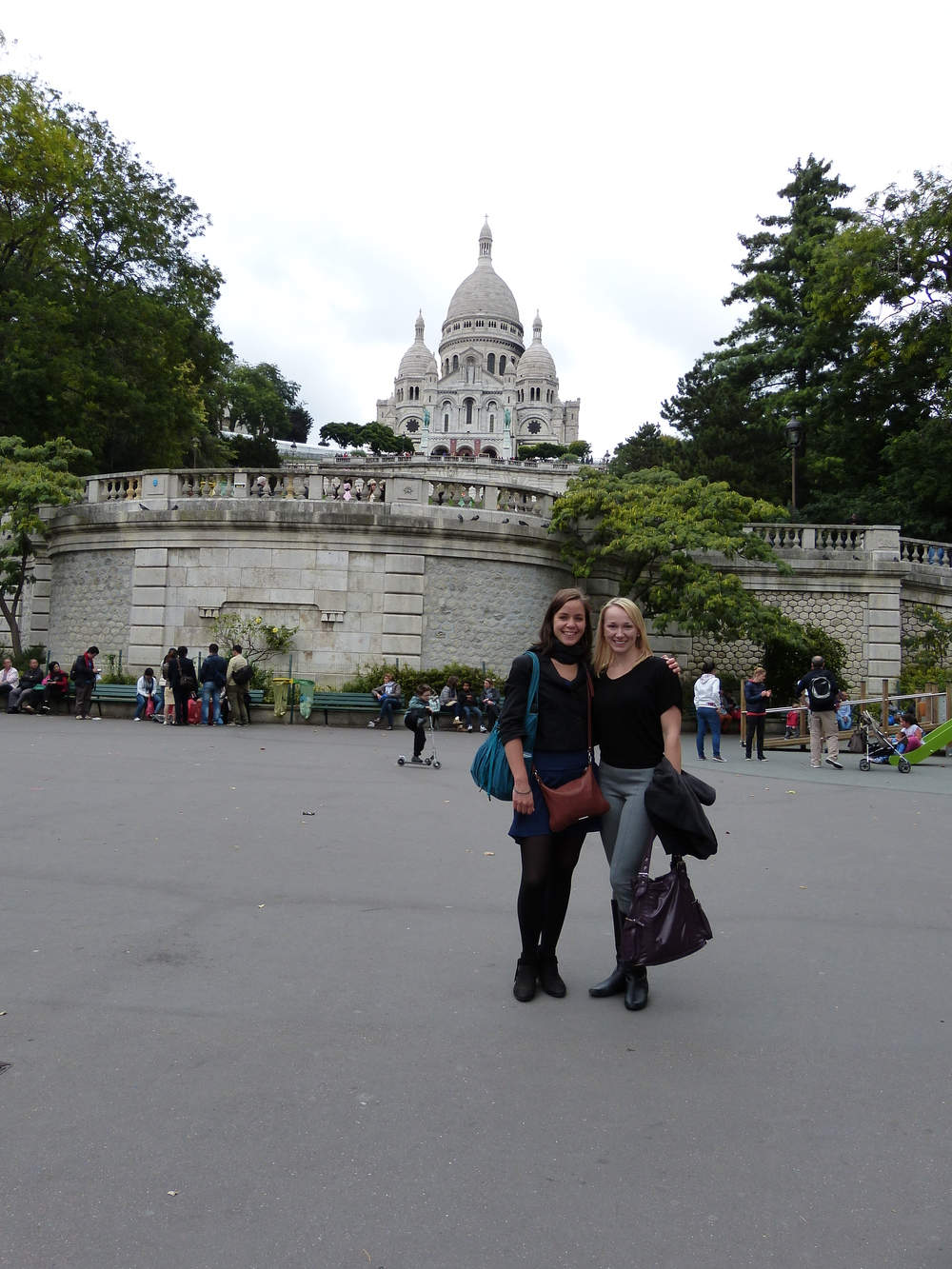 True story: one of my goals was to visit France to see my friend Marion, who was an exchange student at my high school. It took me 15 years, but we spent my 31st birthday walking miles around Paris and catching up. In English, because I don't speak French.