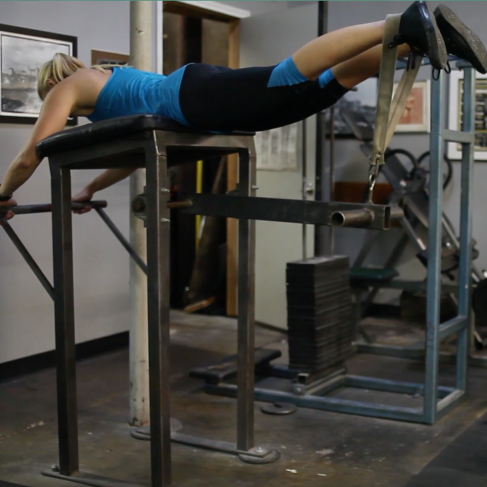 reverse hyperextension