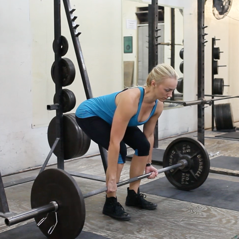 conventional deadlift
