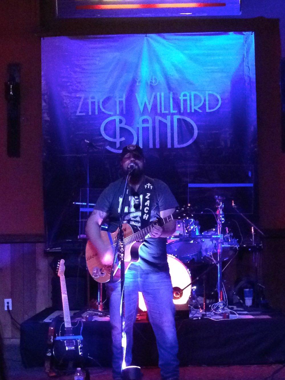 Zach Willard Band  always puts on a killer show.