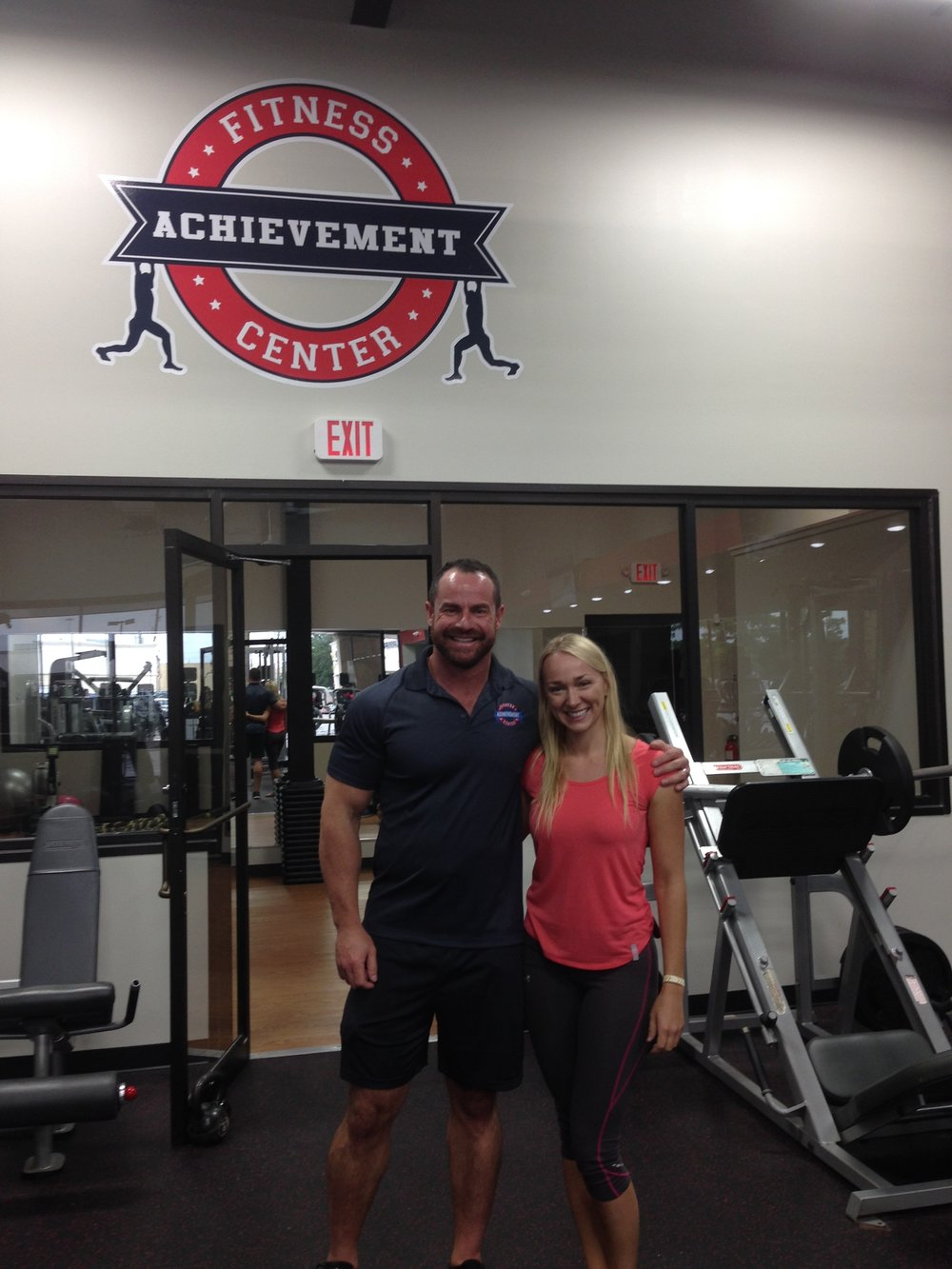 Todd Lynch at  his new facility  in Tomball. I am so happy for my old friend and his new bride Sydney.