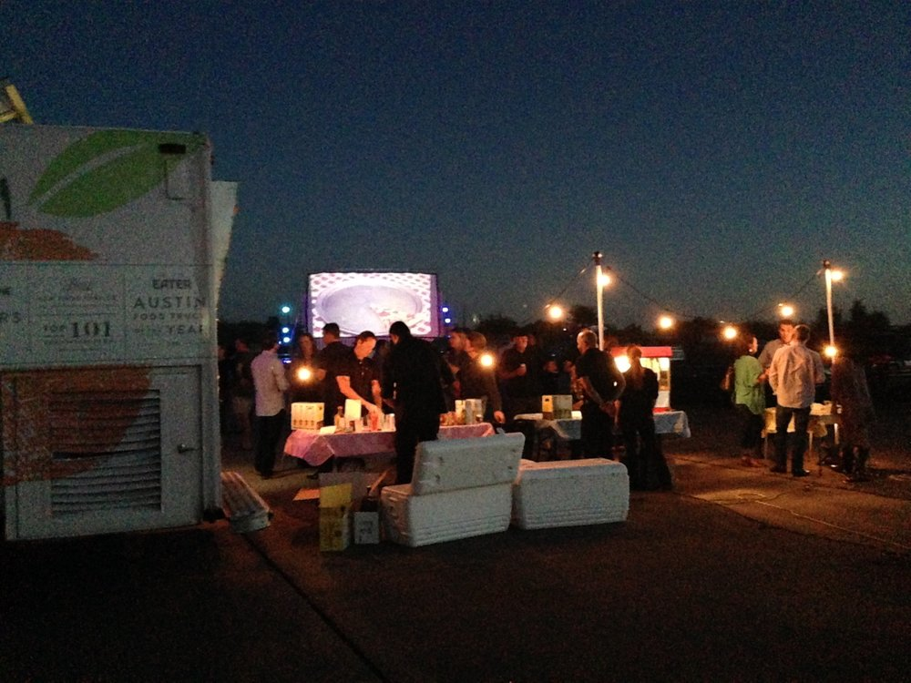 Drive in movie with  SEED Property Group , the best realtors in Austin.