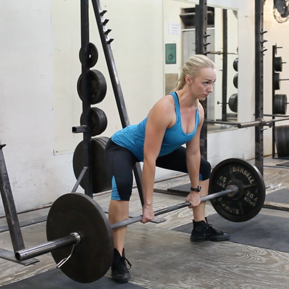 legs sumo deadlift