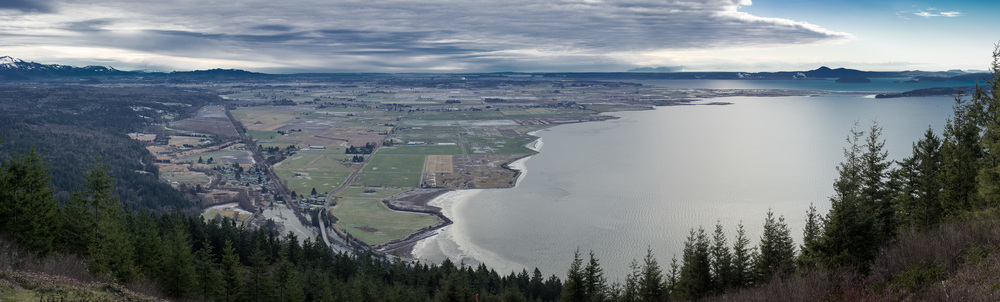 Skagit Valley from Sammish Overlook