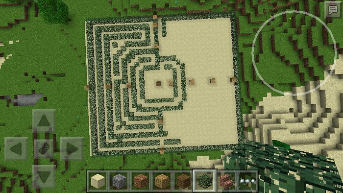 how to make a maze in minecraft xbox 360