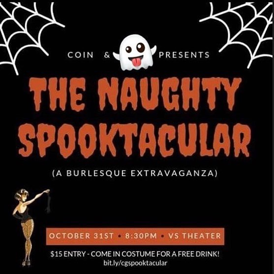Come thru!  #halloween #photooftheday #burlesque