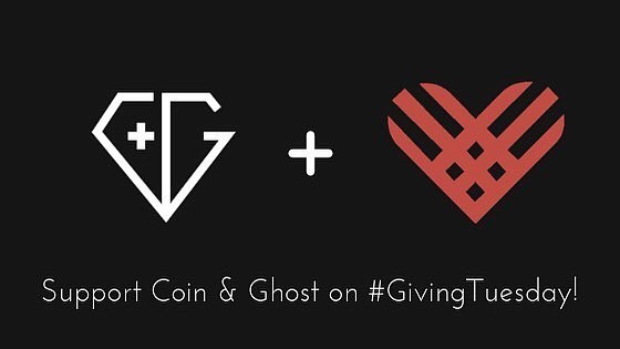 @coinandghost has a fundraiser for #GivingTuesday coming up!  Please read on for details.  This fundraiser is different from our others because Facebook and PayPal will double the first $7 million at 7am donated on #GivingTuesday (tomorrow), that magical time when Americans come together to offset the rampant consumption of Black Friday. The key to our success on Tuesday is for YOU to GIVE EARLY - it ‪starts at 7 am PST‬ and boy, does $7M go by fast on a worldwide scale. So set alarms, wake up early, and race to the goal! There's a link in my bio that will take you directly to the donate page.