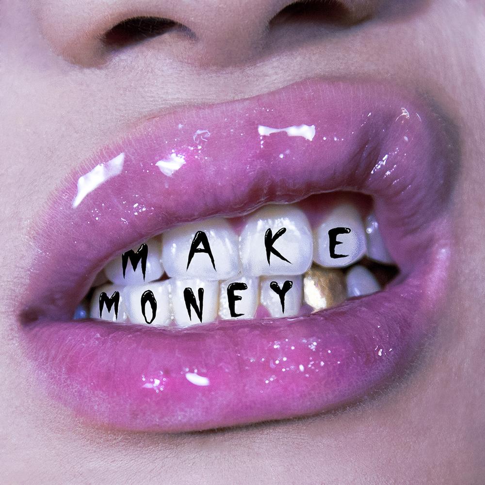 Lapalux 'Make Money' single art