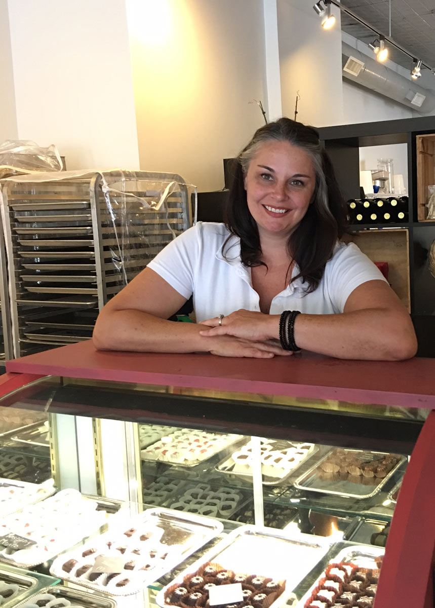 Kelly Walker Wimbold of Chocolates By Kelly