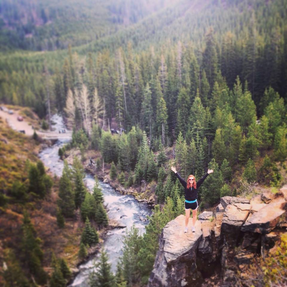 Hiking Tumalo Falls, Central Oregon, May 2014