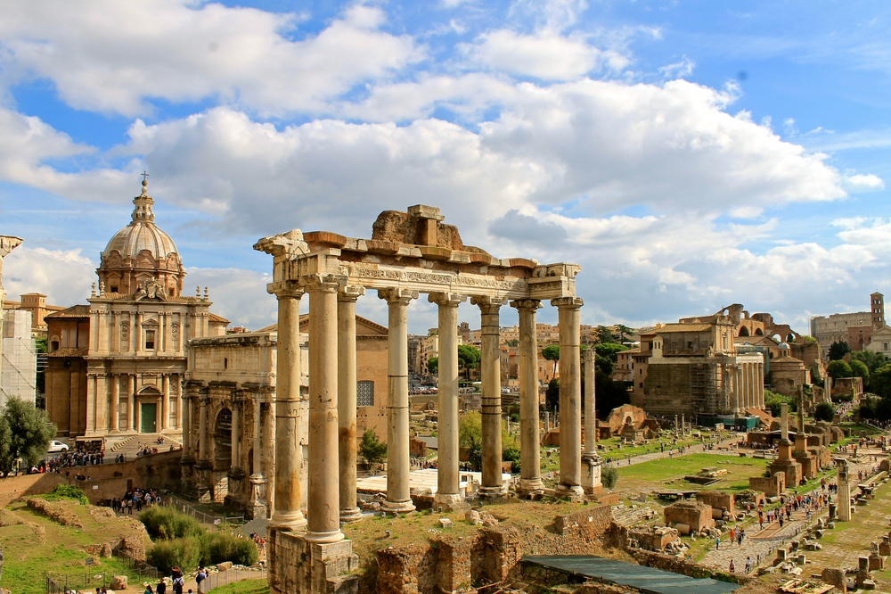 Roman Forums, Rome, Italy