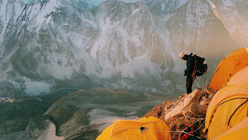 The Uncertain Calculus of Surviving a Himalayan Peak
