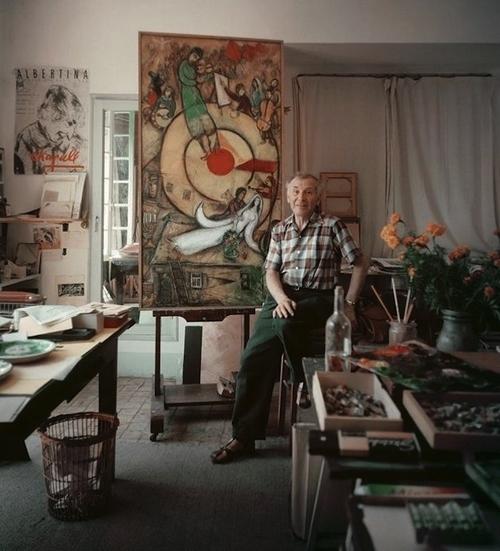 Painter Marc Chagalls Studio